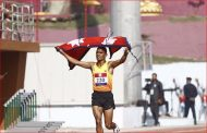 Nepal's Parki wins first gold in men's athletics