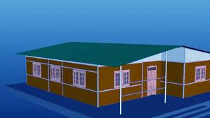 सामुदायिक भवन निर्माण