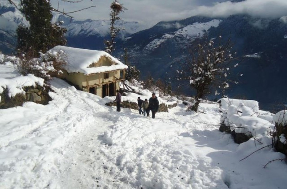 आज पनि मुलुकको पश्चिमी भेगका पहाडी र उच्च हिमाली क्षेत्रमा हिमपातः मौसम विभाग