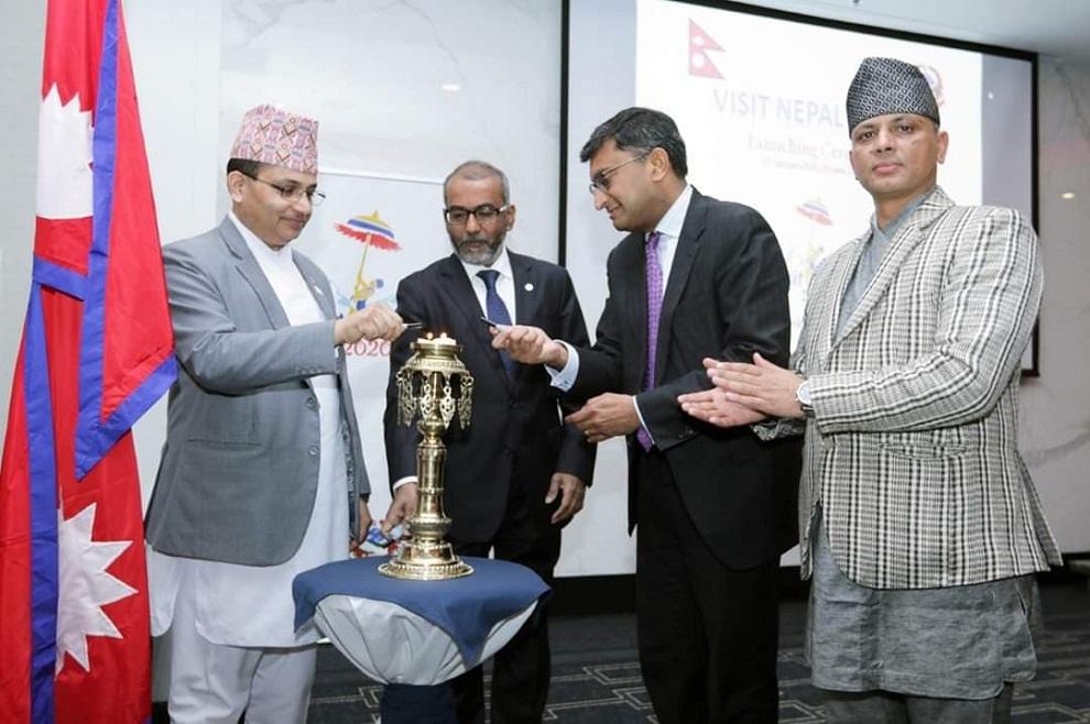 क्यानडियन मन्त्रीले गरे नेपाल भ्रमण बर्षको उद्घाटन