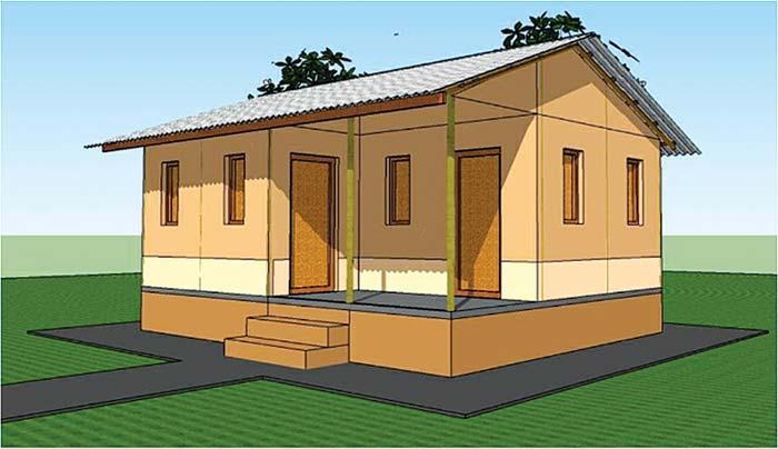 चिडिमार ३४ घरपरिवारले पाए पक्की घर