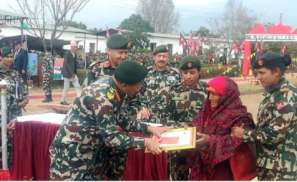 एकै परिवारका छ जना दाजुभाइ नेपाली सैनिक सेवामा
