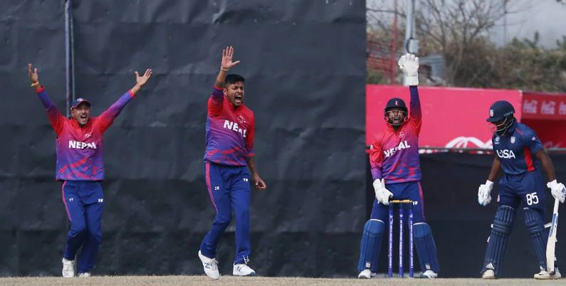 Nepal's first victory in ICC World Cup League-II