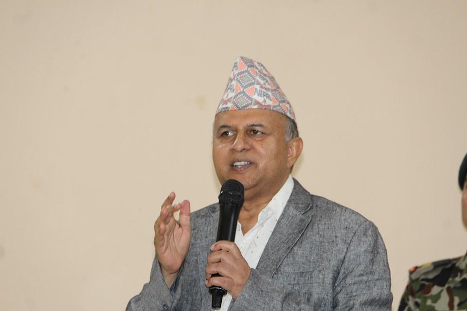 नेपाल-रावलको कारबाहीमा शंकर पोख्रेल भन्छन्ः पार्टी अनुशासनले सबैको हित गर्छ