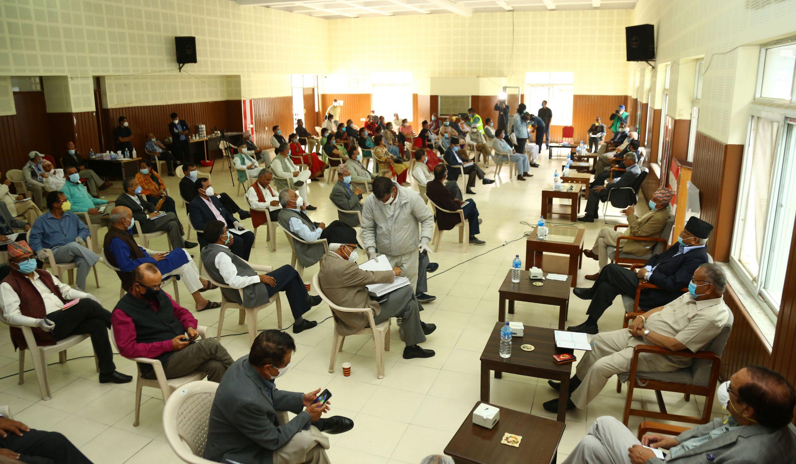 कांग्रेस बैठकः बाढीपहिरो प्रभावितको खोजी, उद्धार, उपचार, स्थानान्तरणमा जुट्न सरकारसँग माग
