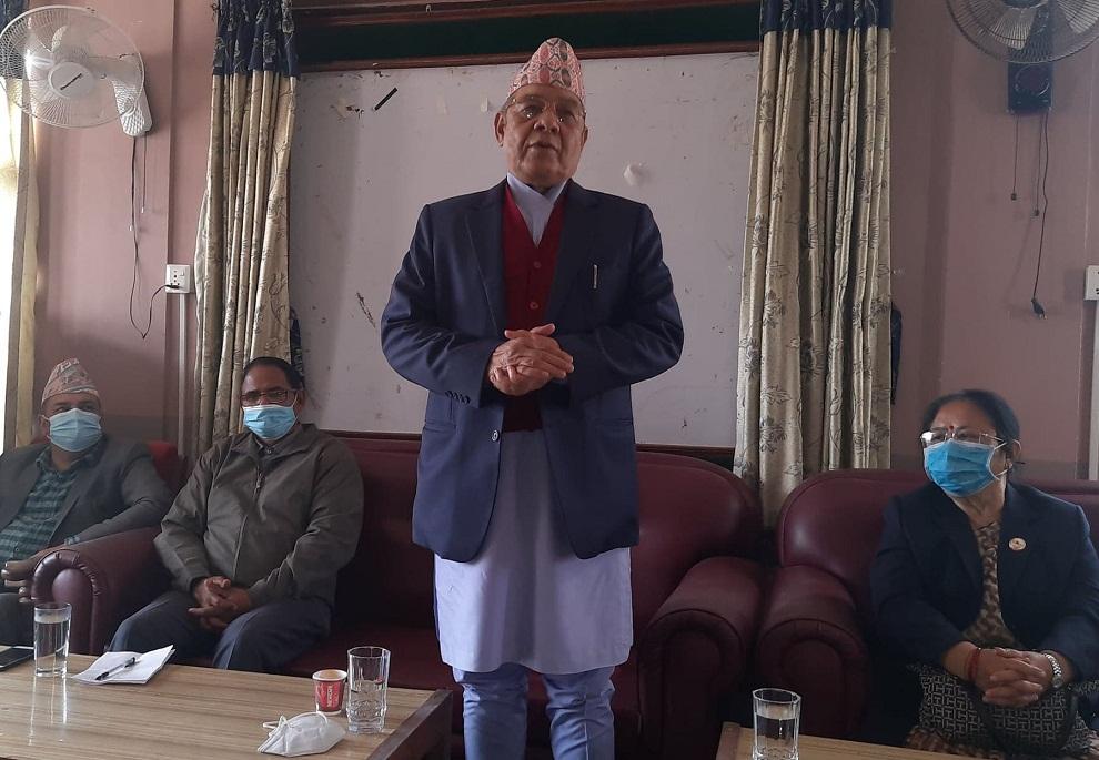 नेकपा कुनै पनि हालतमा फुट्दैनः उपाध्यक्ष गौतम