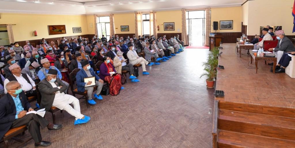 बालुवाटारमा नेकपा एमालेको बैठक बस्दै, नेपाल पक्षमाथि थप कारबाहीको सम्भावना