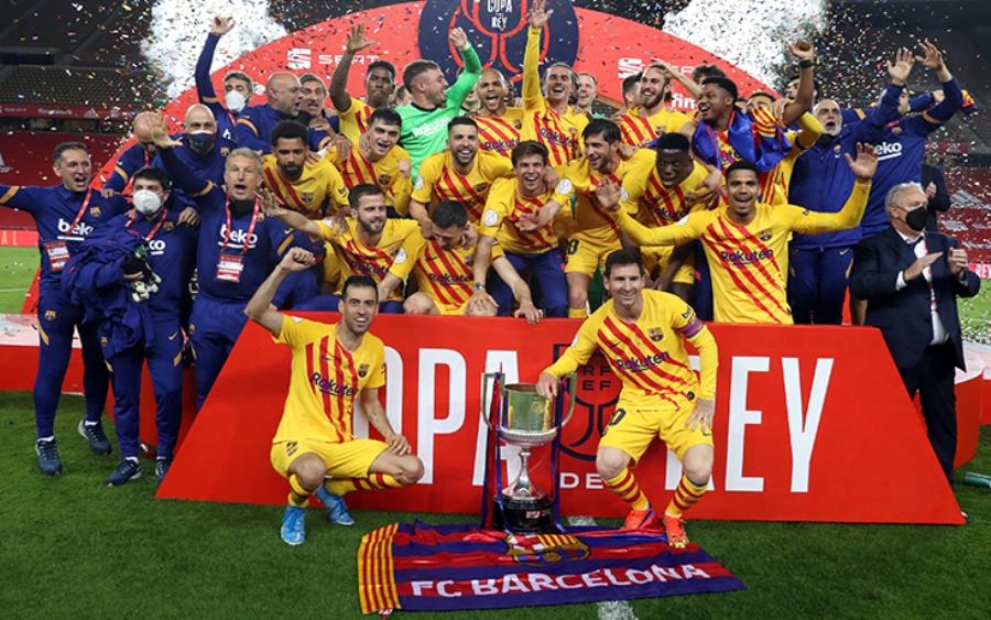 कोपा डेल रे कपको विजेता बार्सिलोना